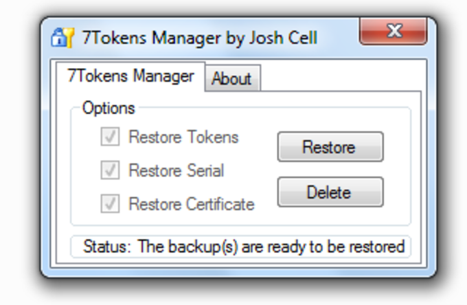 7Tokens Manager