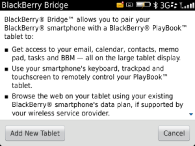 BlackBerry Bridge