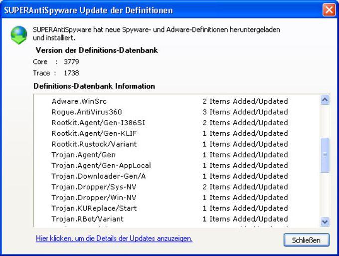 SuperAntiSpyware Portable Scanner