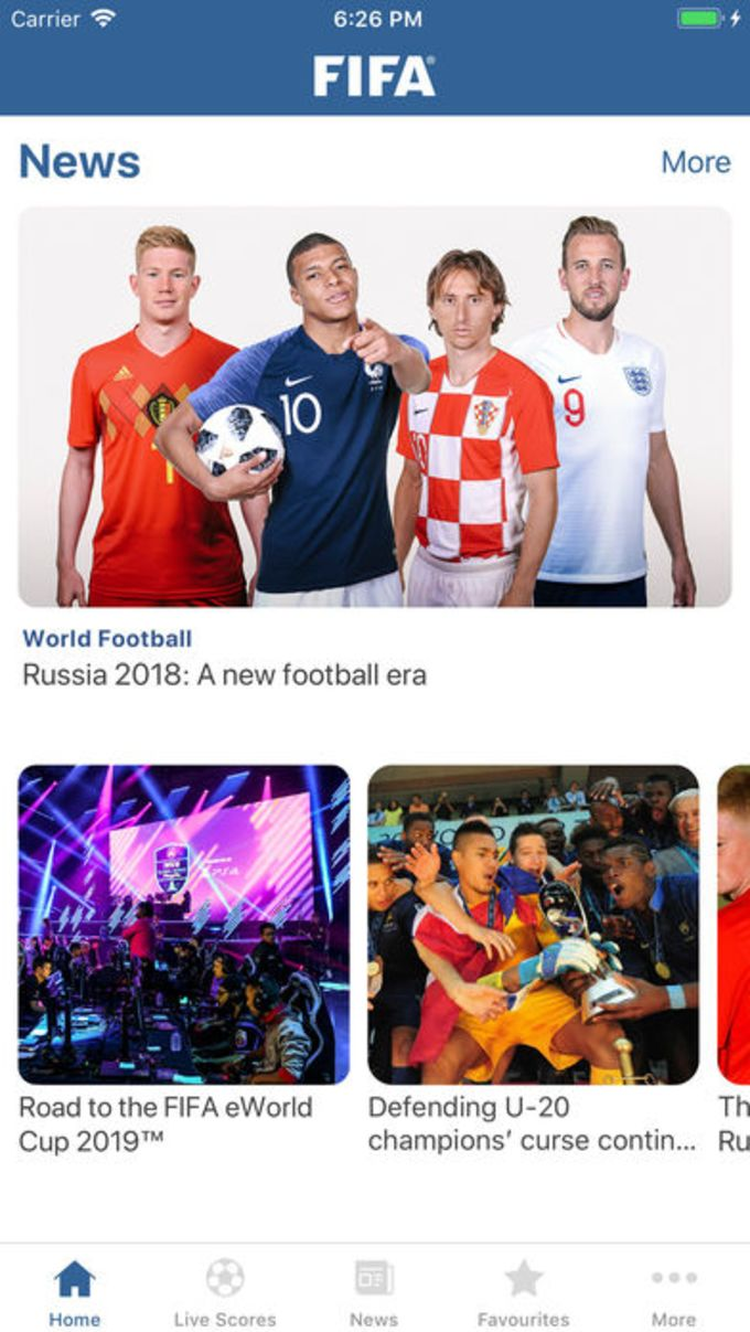 FIFA - Soccer News  Scores