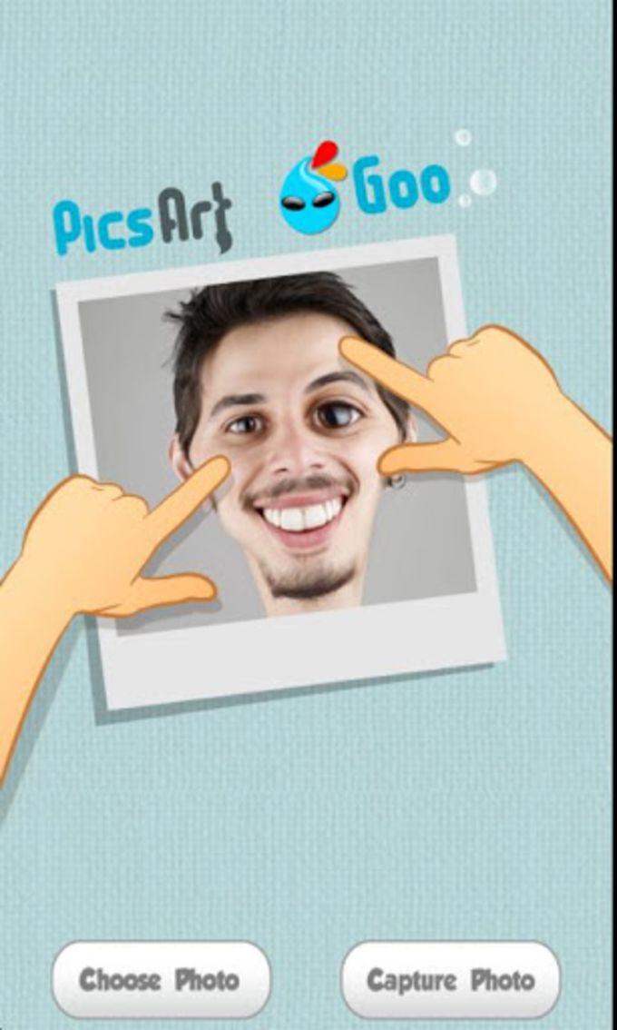 PicsArt Goo - Liquid face