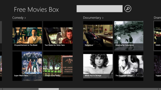 Free Movies Box for Windows 10