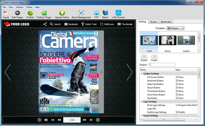 Next FlipBook Maker Pro