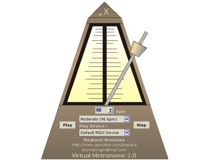 Virtual Metronome