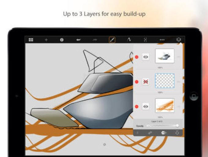 SketchBook Express for iPad