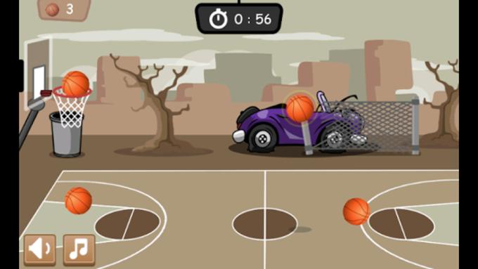 Juego de Baloncesto 1 minuto
