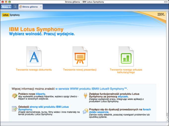IBM Lotus Symphony