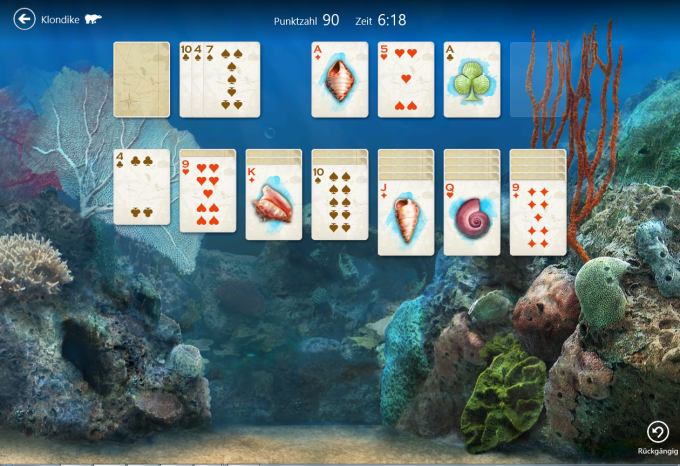 Microsoft Solitaire Collection für Windows 10