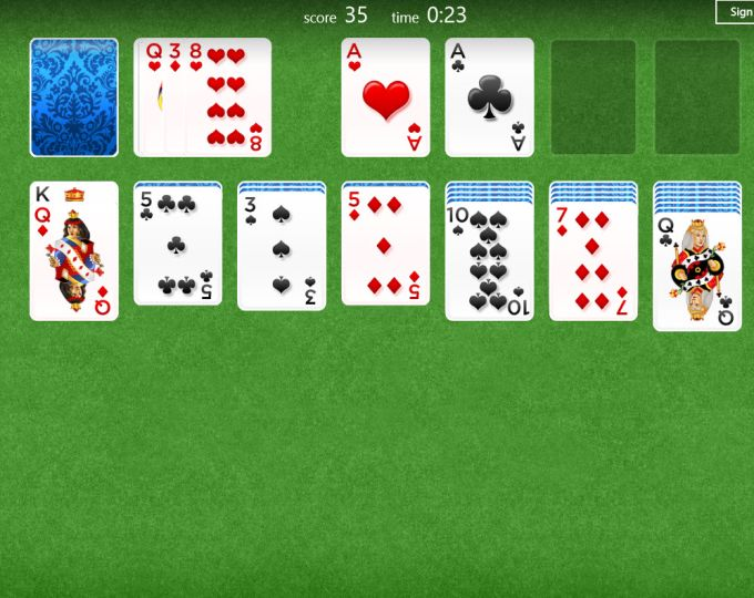 Solitaire para Windows 10