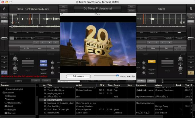 DJ Mixer Pro for Mac