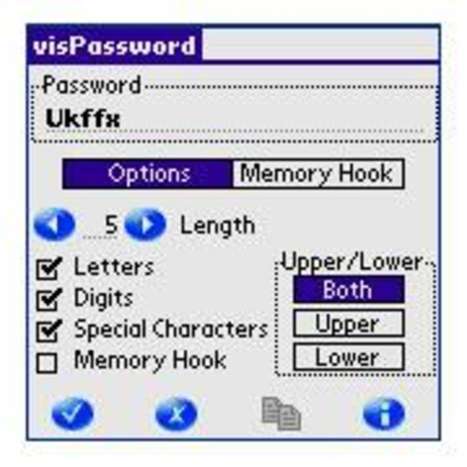 visPassword PalmOS