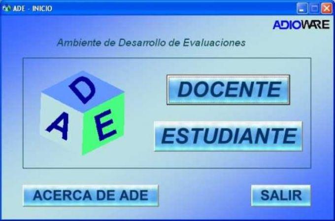 ADE Ambiente de Desarrollo de Evaluaciones