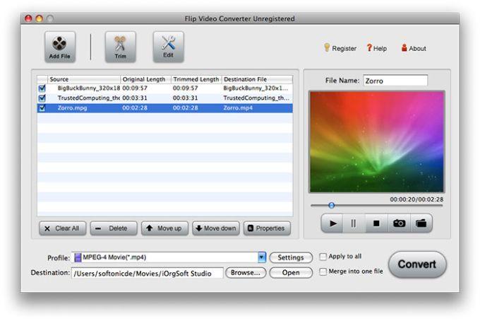 Flip Video Converter