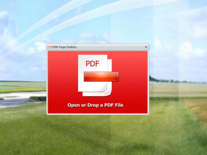 PDF Page Delete