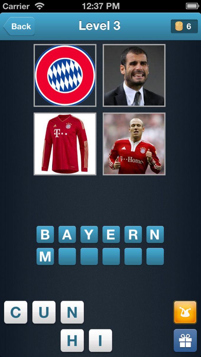 Football Quiz - adivinhe o time de futebol