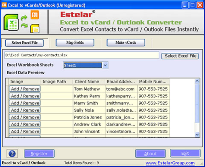 free download excel to vcf converter software