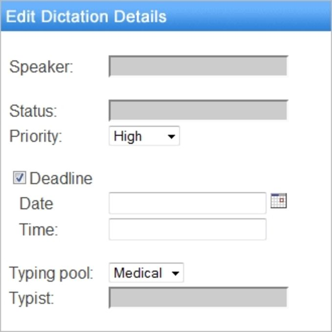 Express Delegate Dictation File Manager