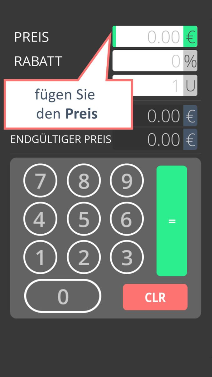 Calculadora de descuento con lista de compras