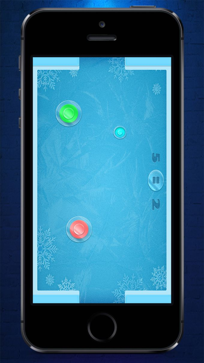 Hockey sobre hielo : Ice Hockey HD - Air Hockey Neon Perfect Light Animation