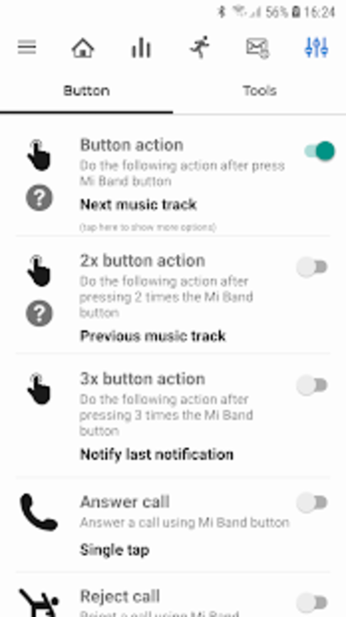 Notify  Fitness for Mi Band