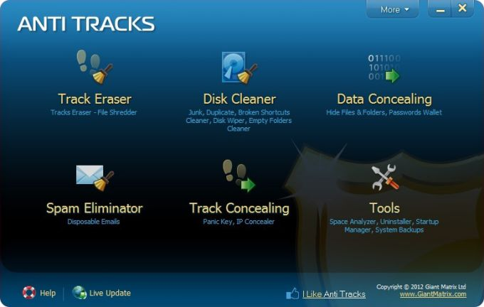 Anti Tracks Free Edition