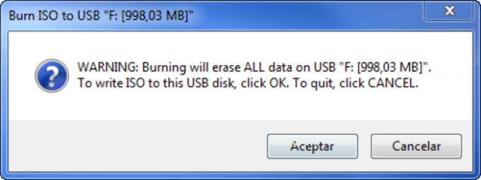 ISO to USB