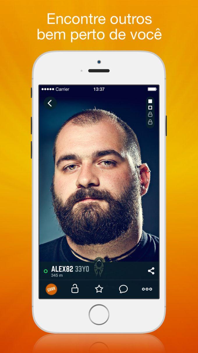 Grrr: Aplicativo de bate-papo e namoro Gay, rede social para Homens, Ursos e Bi-curiosos