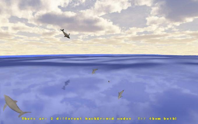 Desktop Dolphins 3D Screen Saver
