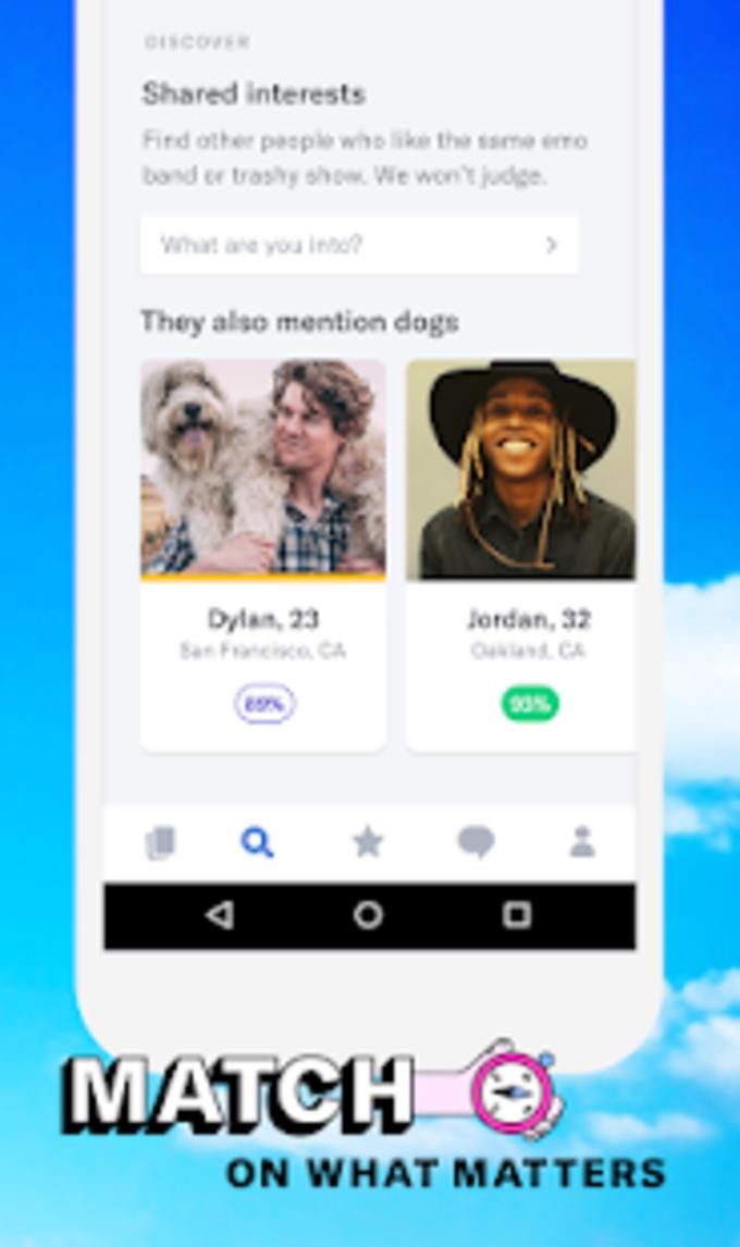 POF gratis dating app