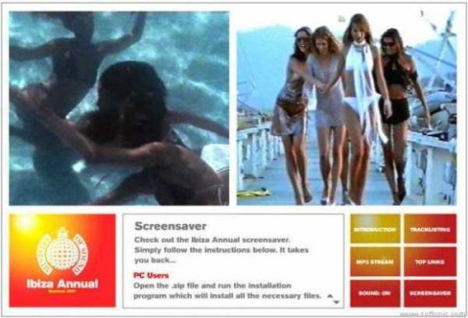 Ministry of Sound Ibiza Anual 2001 Screensaver
