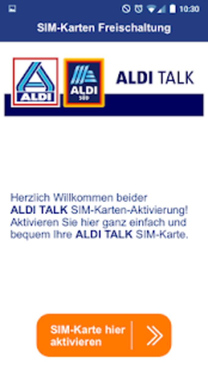 ALDI TALK Registration
