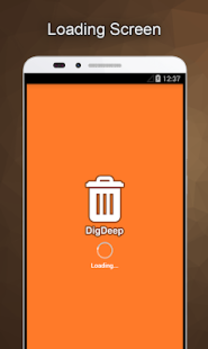 DigDeep Image Recovery
