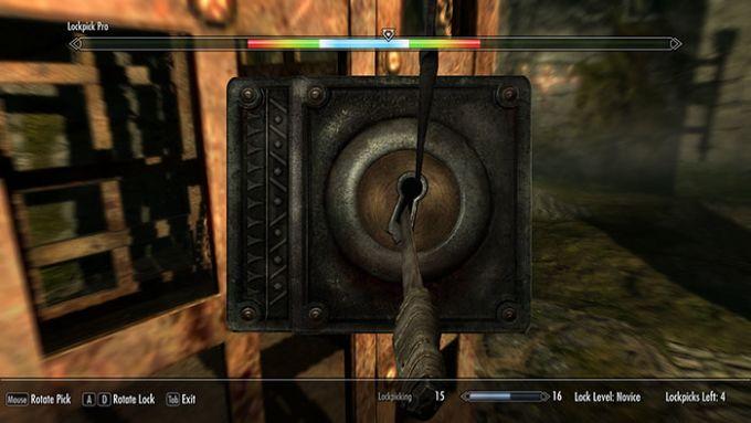 Skyrim Lockpick Pro