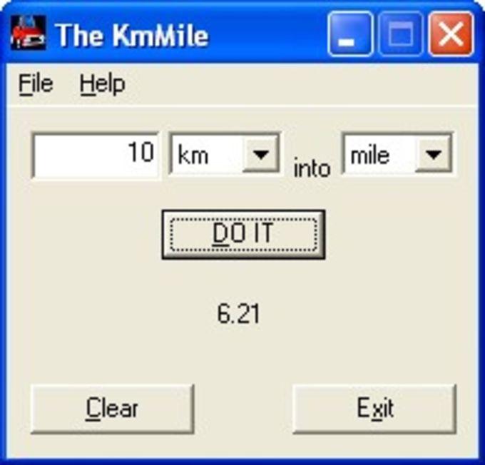 KmMile