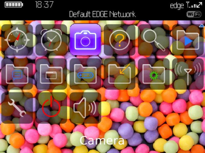 Colored Balls Theme