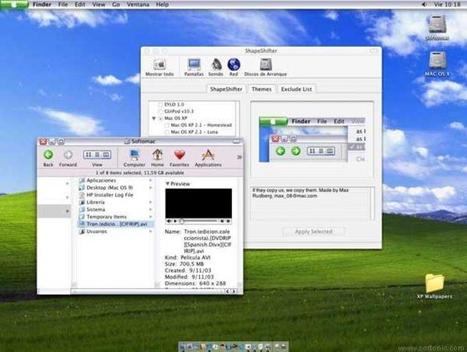 Mac OS XP