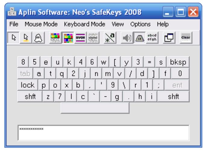 Neo's SafeKeys Portable