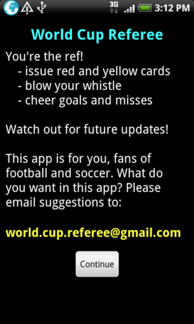 World Cup Referee