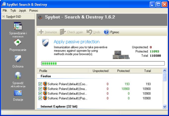 SpyBot Search & Destroy Portable