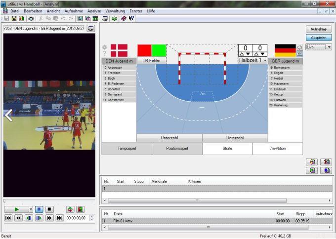 utilius® vs Handball