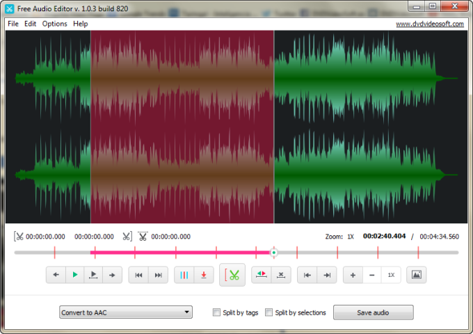 Free Audio Editor