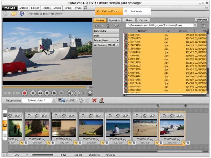 MAGIX Fotos en DVD