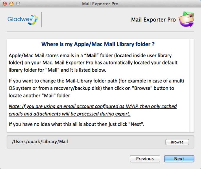 Apple Mail Migration Tool