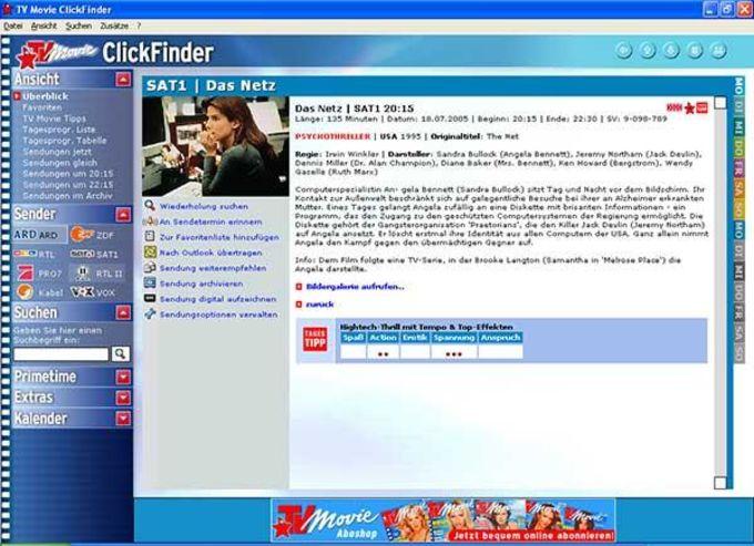 TV Movie ClickFinder