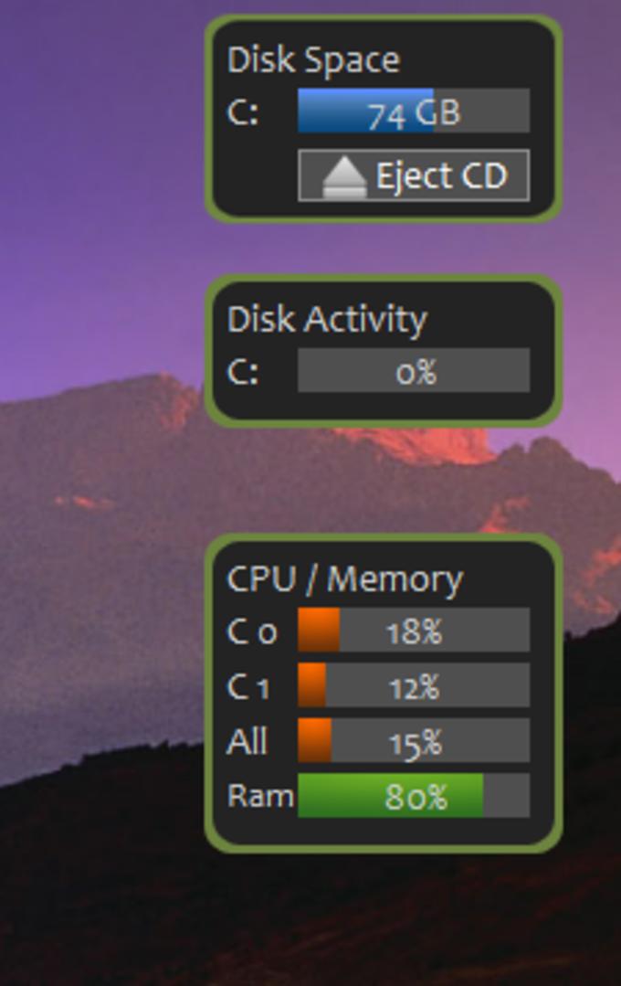CPU Meter Gadget