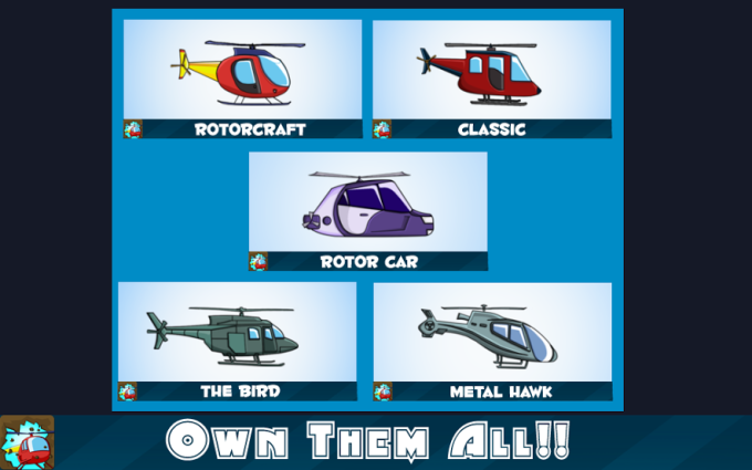 Rotorcraft - Helicopter Game