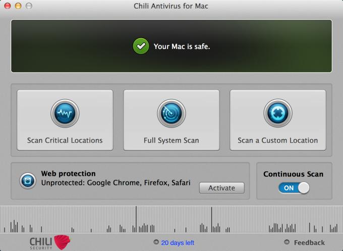 Chili Antivirus for Mac