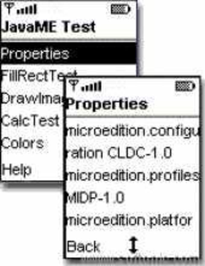 JavaME Test Suite