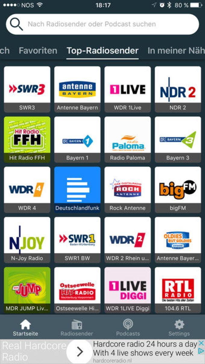 Radio FM Deutschland: Radios / Internetradio DE