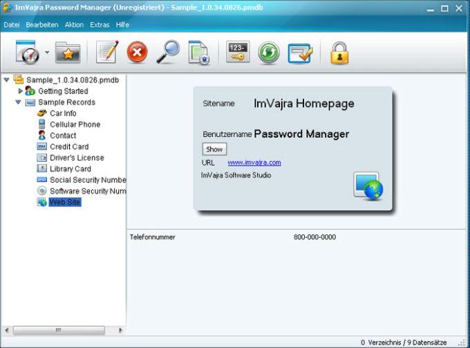 ImVajra Password Manager